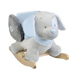 Столче-люлка Nattou, Basie the bear