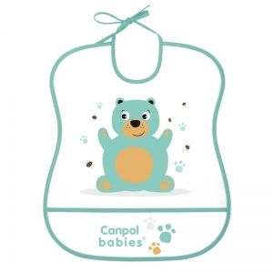 "Лигавник с подложка Canpol babies, ""Cute Animals"", мече"