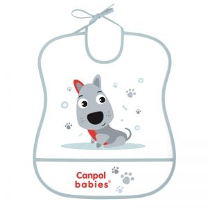 "Лигавник с подложка Canpol babies, ""Cute Animals"", куче"